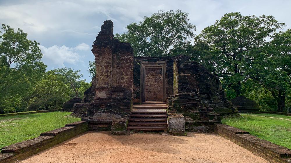 polonnaruwa ruines site principal